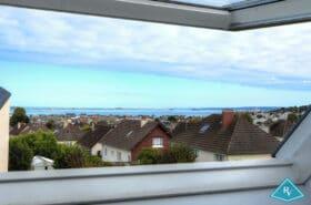 Maison contemporaine avec vue mer
