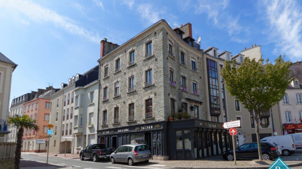 Immeuble dans le centre ville de Cherbourg