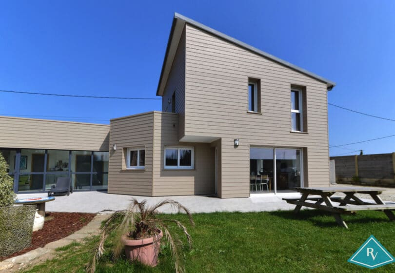Maison avec extension de 2013