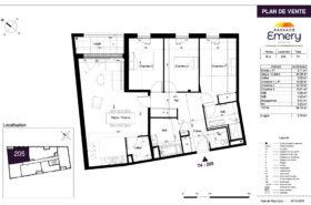 Appartement neuf avec ascenseur et loggia