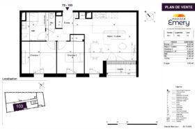 Appartement neuf avec ascenseur en résidence