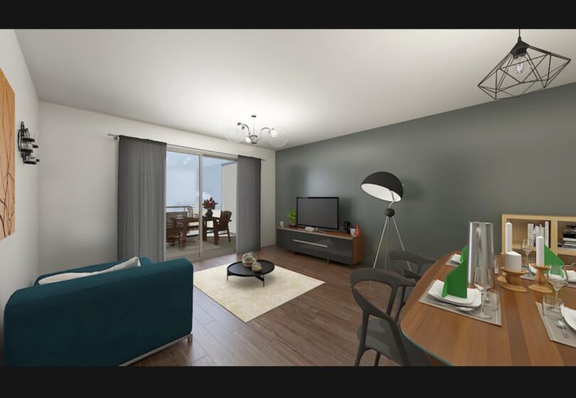 Appartement neuf T3 avec vue sur zone naturelle