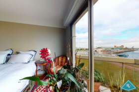 Appartement avec vue mer, balcon et ascenseur